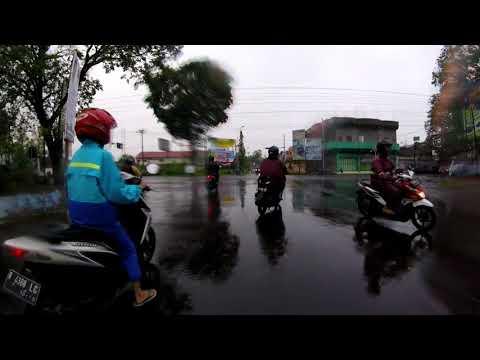 Tes Gopro Hero 4 Session pas Hujan