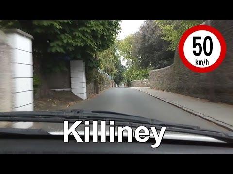Dash Cam Ireland - Wyattville Road to Killiney Station, Dublin