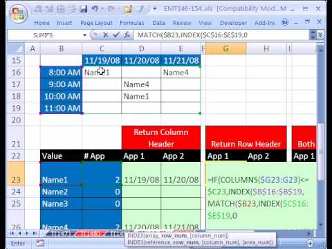 Excel Magic Trick #149.5: Reverse 2-Way Lookup w Duplicates