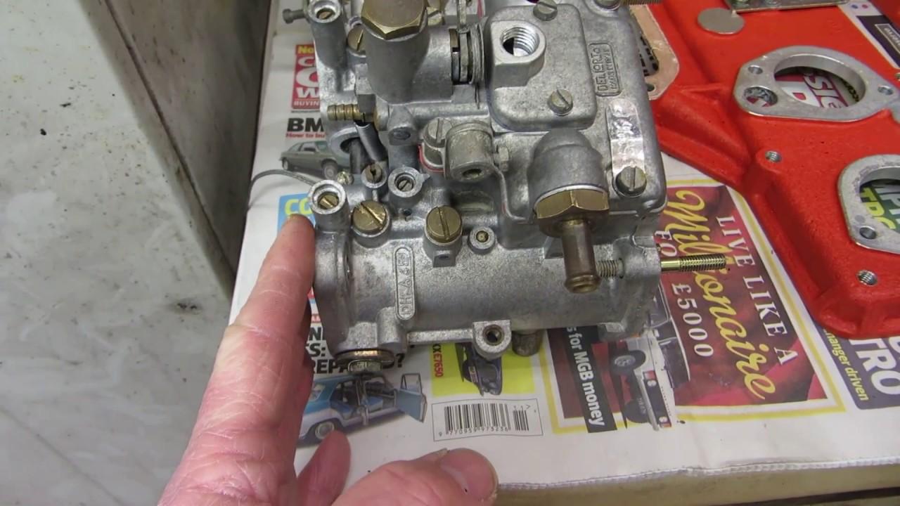 Lotus Esprit Carburettor Overhaul (updated)