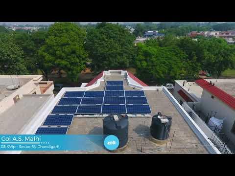 5kW Ongrid Solar System in Delhi, Chandigarh & Hyderabad