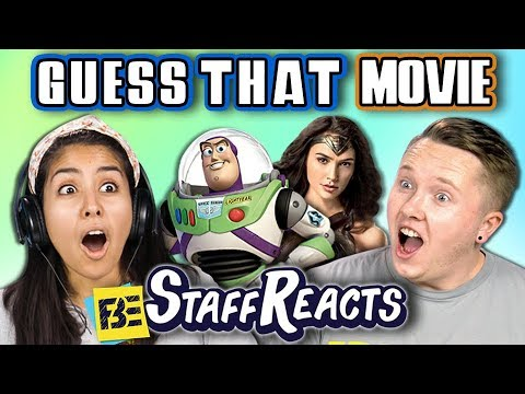 GUESS THAT MOVIE CHALLENGE #7 (ft. FBE STAFF)