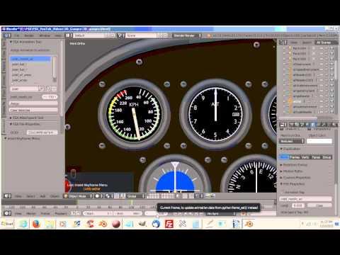 How To Use Blender For Making Flight Simulator X Models (FSX) Blender2FSX Part 24a