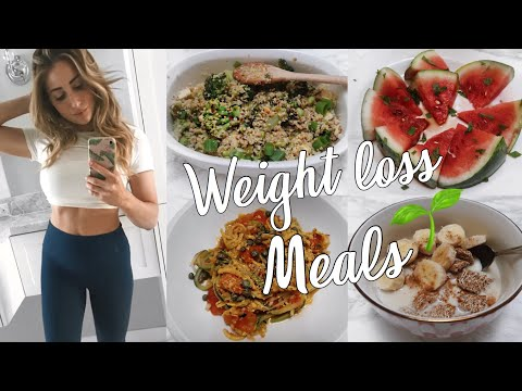 Weight Loss Vegan Meals // Flat Tummy Meal Prep 2018