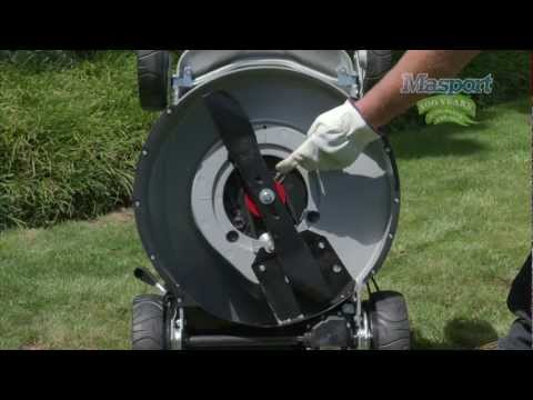 Masport Lawnmowers: Blade Systems