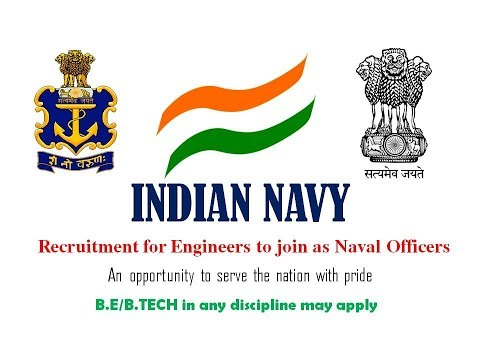 Indian Navy Engineers Recruitment 2017 || B.E/B.TECH (Any) apply