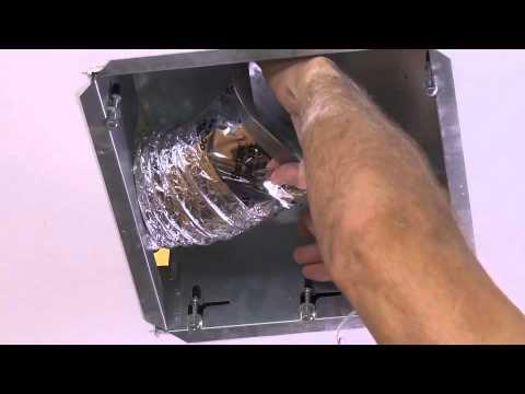 Installing The NuTone EZ Fit Ventilation Fan