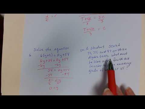 Solve Equations