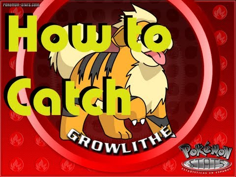 Pokemon Black 2 and White 2| How To Find and Catch Growlithe