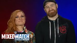 Sami Zayn & Becky Lynch to represent UNICEF in WWE Mixed Match Challenge