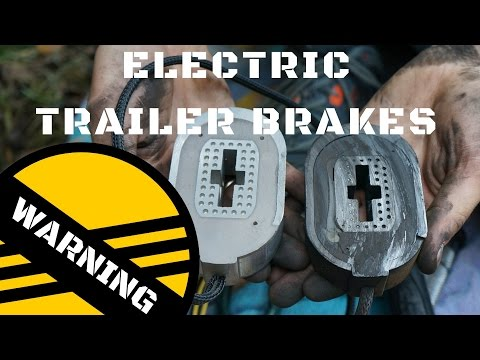 Common reason for Shorting trailer brakes, If You Have Electric Trailer Brakes Check your Axle Wires