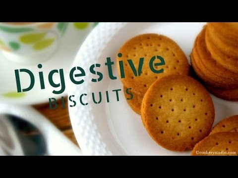 How to make digestive biscuits at home | Atta biscuits at home