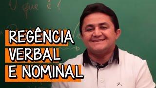 REGÊNCIA VERBAL E NOMINAL | PORTUGUÊS | DESCOMPLICA