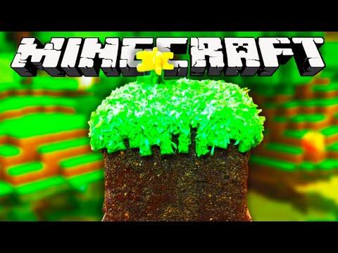 MINECRAFT CAKE - NERDY NUMMIES