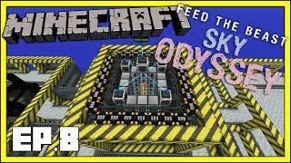 FTB Sky Oddysey - EP6 - Liquifacted Coal Factory - Modded Minecraft