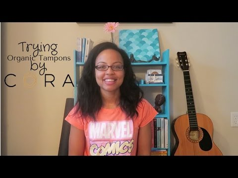 Trying Cora Organic Tampons | Girl Talk