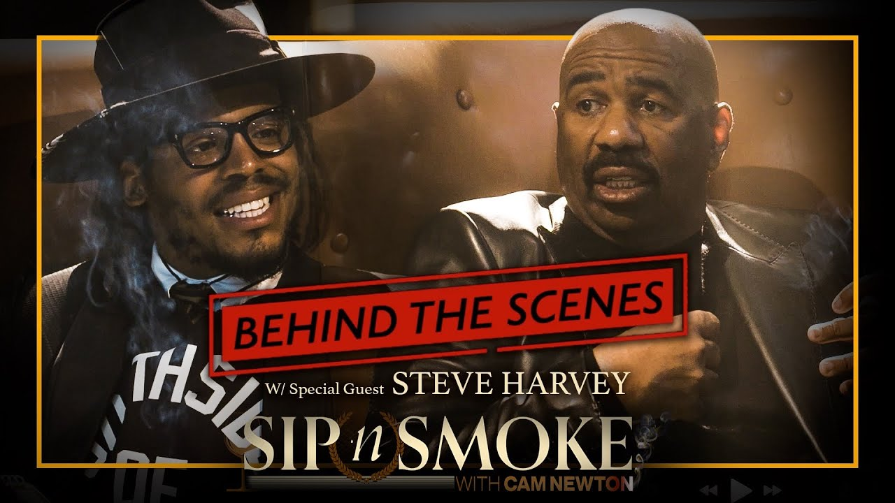 Steve Harvey Drops Gems on Cam   Sip N Smoke #BTS