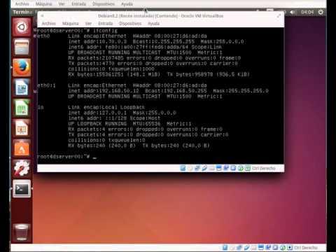 Comprobar conexión IPv6 de enlace local en Ubuntu e Debian