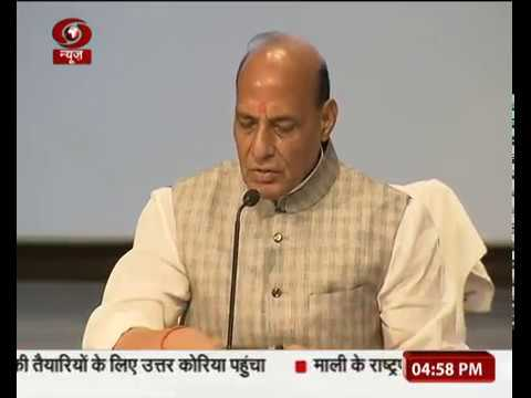 Union Home Minister briefs Media on 4 Years of NDA Govt. at Centre