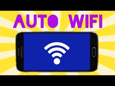 Auto Enable and Disable Wifi on Android
