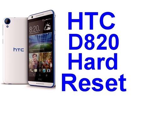 hard reset Htc D820g