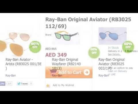 Ray-Ban Sunglasses available in Aido.com. Lowest prices with discounts online.
