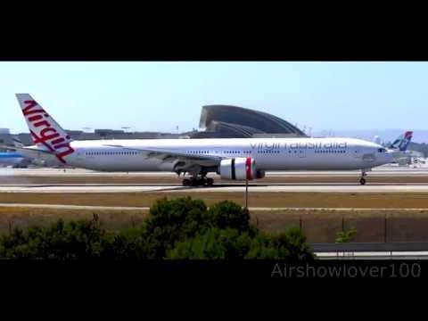 Virgin Australia Airlines Boeing 777-300ER Landing LAX