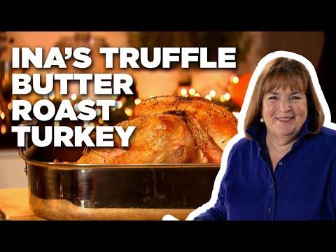 Ina's Truffle Butter Roast Turkey | Food Network