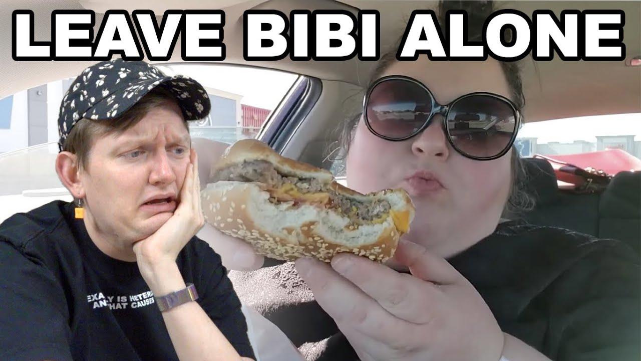 CHANTAL WON'T LEAVE BIBI & FAST FOOD ALONE