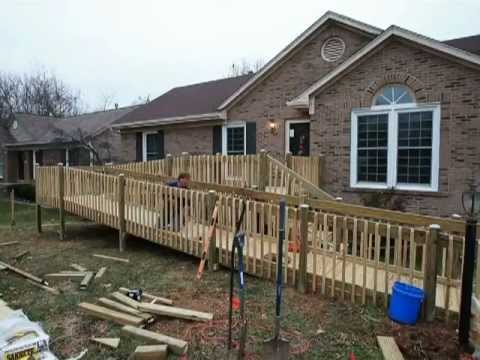 Building Wheelchair Ramps And A Whole Lot More!