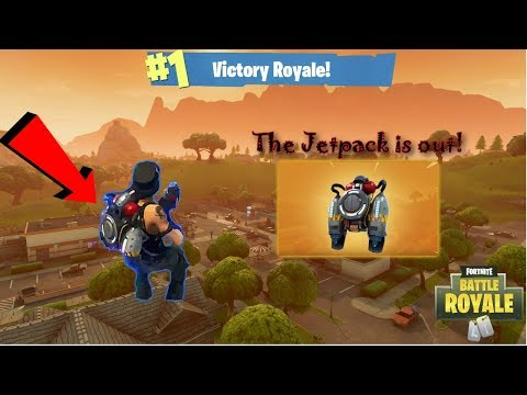 *NEW* Jetpack Gameplay! | Victory Royale | Fortnite