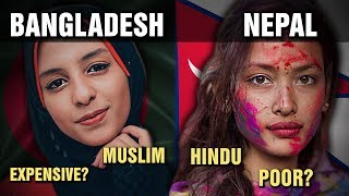 The Differences Between BANGLADESH and NEPAL