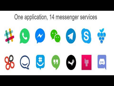 Access all of your Messenger Services in one Place with  Franz