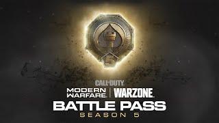 Call of Duty®: Modern Warfare® & Warzone - Season Five Battle Pass Trailer