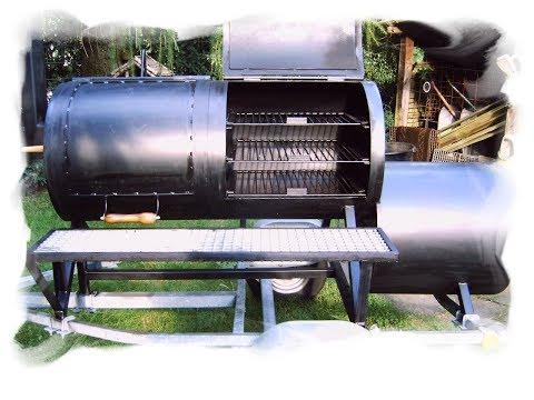 BBQ Smoker Setup for cold smoking Sausage or Ham, How To, the German Sausage Maker