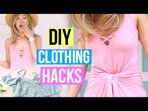 DIY Clothing Life Hacks You Must Know!