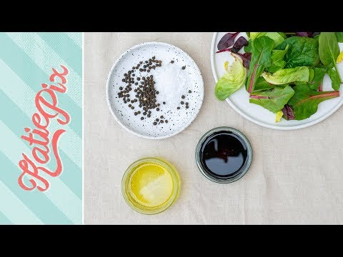 How To Make BALSAMIC Salad Dressing Recipe | Katie Pix