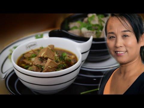 Chinese Yin & Yang Lamb Soup Recipe (Chinese Style Cooking Recipe)