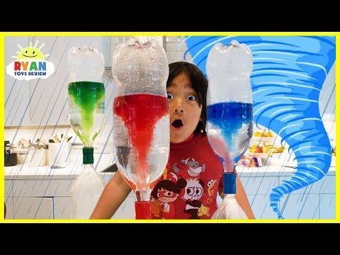Xxx Mp4 Ryan Create Tornado In The Bottle Science Experiments For Kids 3gp Sex