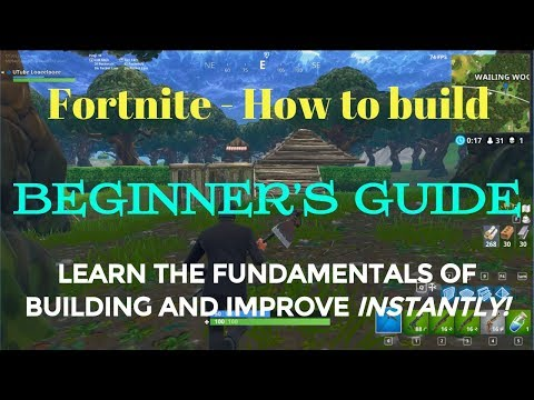 Fortnite - How to Get Good - Episode 3: HOW TO BUILD! (+ clutch dub)