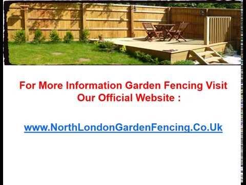 Garden fencing London 2015:Make Your garden unique