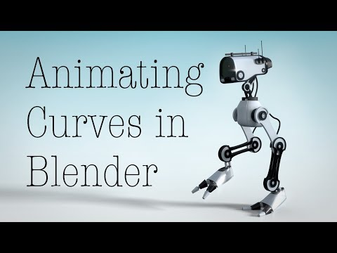 Animating Curves with the Hook Modifier in Blender