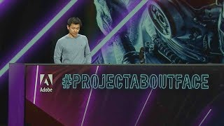 #ProjectAboutFace: Adobe MAX 2019 (Sneak Peek) | Adobe Creative Cloud
