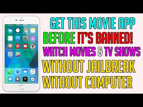 Get This App Before It's Banned!! Watch Movies & TV Shows FREE iOS 10 - 10.3 / 9 (NO JAILBREAK)