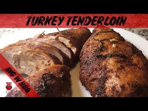 Smoked Turkey Tenderloin | Turkey Breast | Big W BBQ