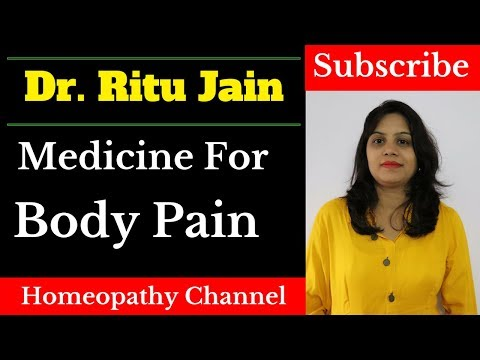 Homeopathic Medicine & Treatment For Body Pain,Muscle Pain,Fever(Home Remedies For Body Pain)