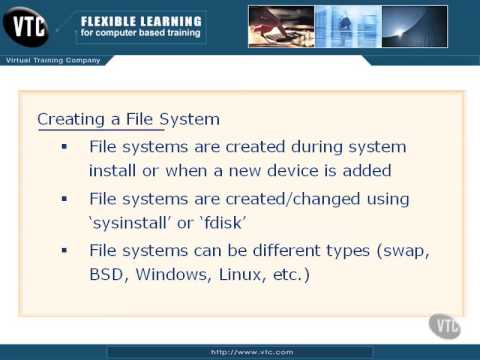 FreeBSD - Creating a File System