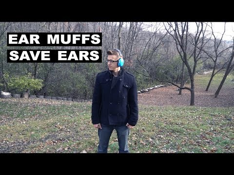 Save Your Ears! Get Some Ear Muffs