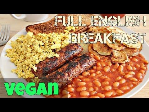 VEGAN FULL ENGLISH BREAKFAST ♥ Cheap Lazy Vegan