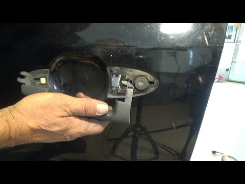 Front outside door handle replacement (2001-2007 Ford Escape)